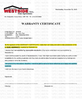 Satisfaction Warranty PDF